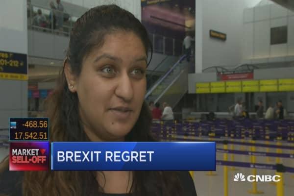Brexit regret