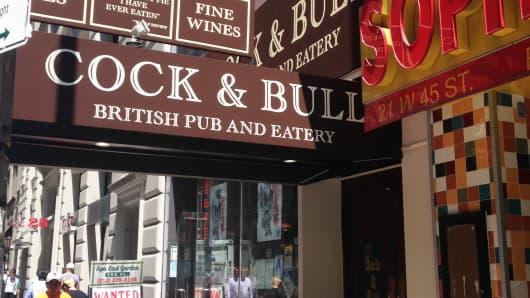 Cock & Bull restaurant, NYC