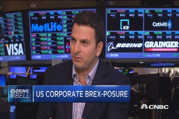 US corporate Brex-posure