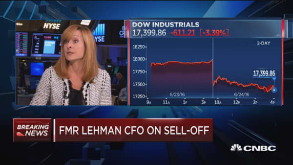 Fmr Lehman CFO: There's a way to get through this