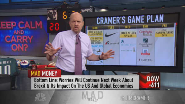 Cramer's game plan: Until this group stabilizes, we need to keep worrying