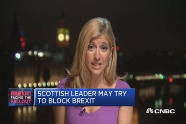 Scotland backs UK remain vote