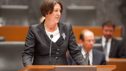 Violeta Bulc, European Commissioner for Mobility and Transport.