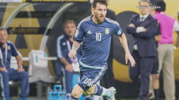 Lionel Messi retires from Argentina after missing penalty kick
