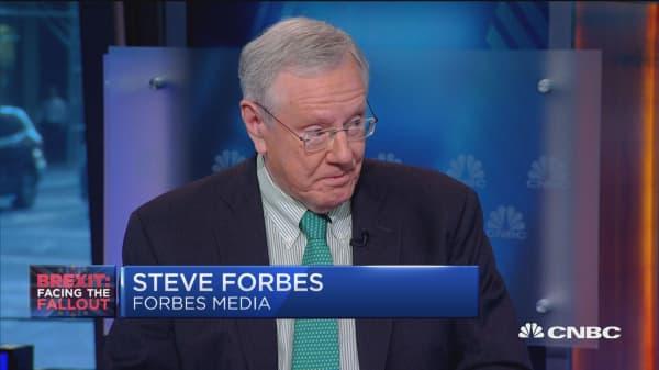 Steve Forbes: Politics of Brexit