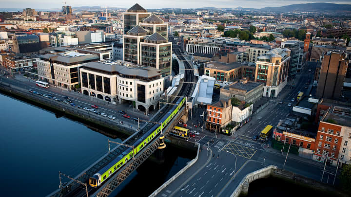 Dublin may become the next big financial center in Europe as London exits the E.U.