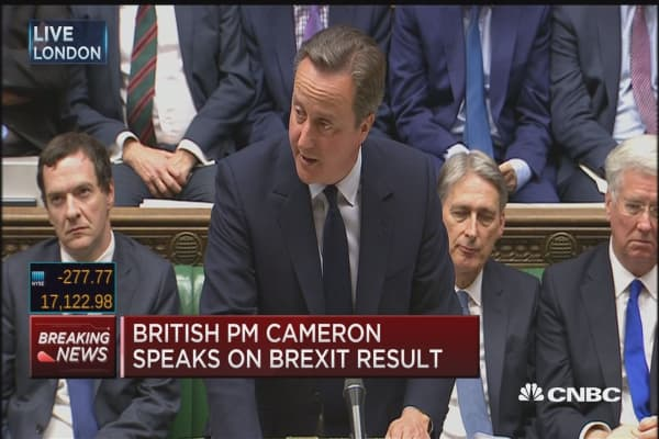 British PM: What this vote means