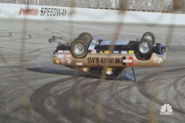 Jay Leno's Garage - Two-Wheel Stunt Crash