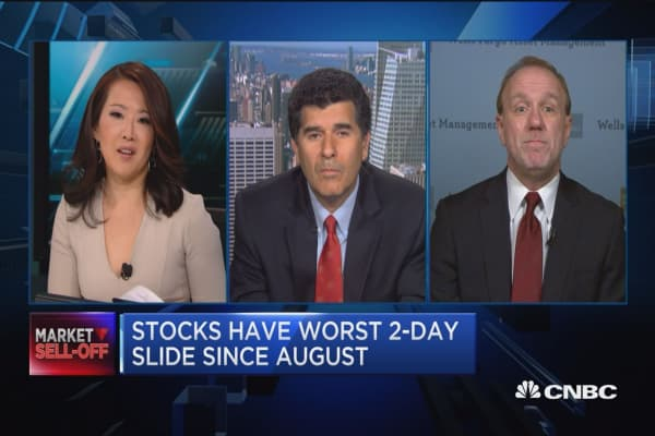 Take advantage of the panic: James Paulsen