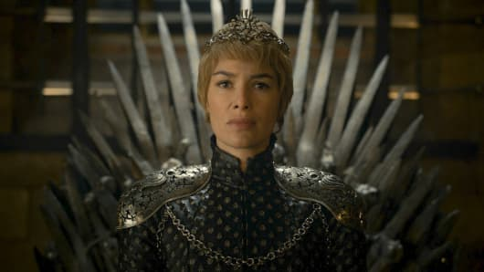 Lena Headey as Cersei Lannister featured in Game of Thrones season six finale.