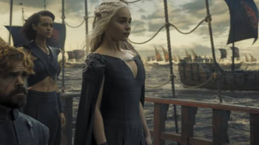 Emilia Clarke as Daenerys Targaryen featured in Game of Thrones season six finale