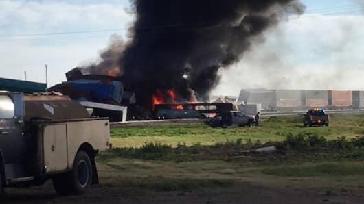 Train crash Texas