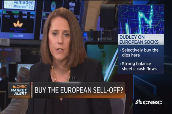Buying dips here: Dudley