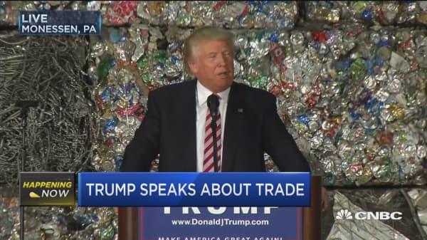 Trump: NAFTA worst trade deal in history