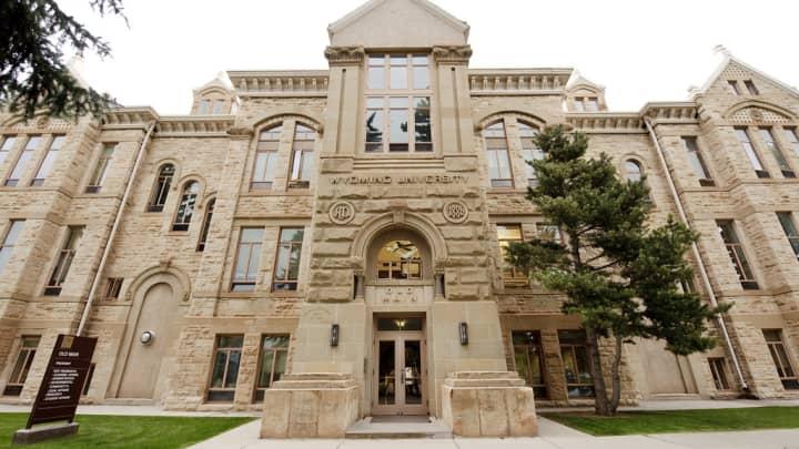 Wyoming University campus building