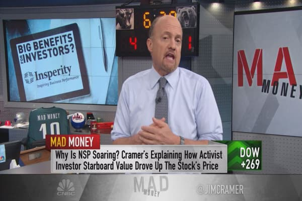 Cramer: Behind the staggering moves of Insperity