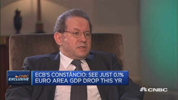 We are waiting to see where markets stabilize: ECB's Constâncio
