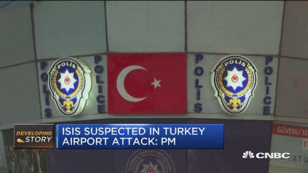ISIS suspected in Turkey airport attack: PM