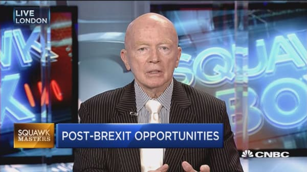 Brexit will benefit Eastern Europe: Mark Mobius