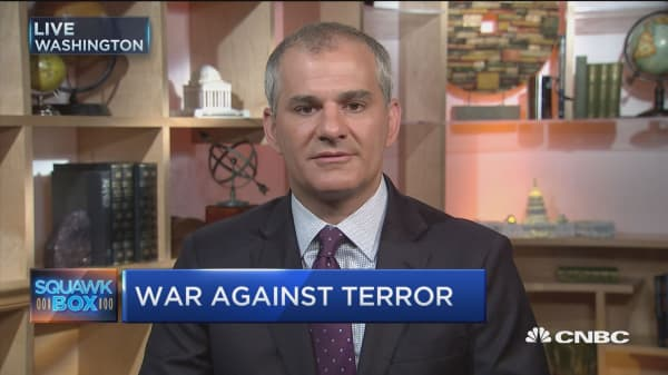 Waging war against terrorism