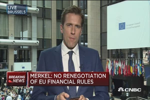 Merkel: Open borders needed for EU access