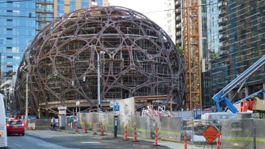 Amazon sphere construction