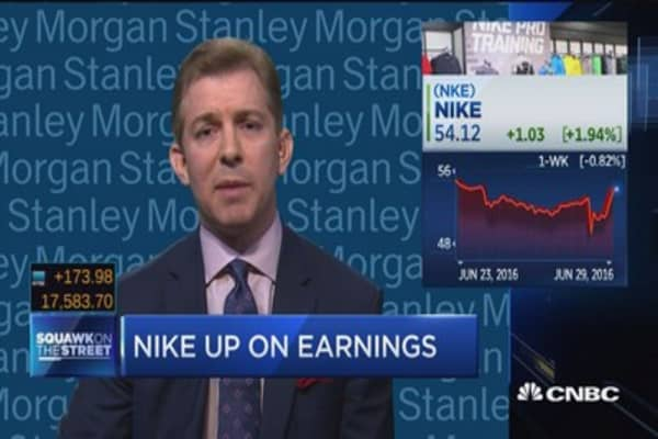 'Upside opportunity' in Nike