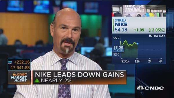 Nike profit beats, revenue misses