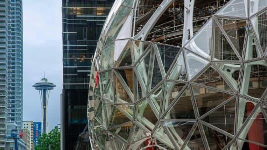 Amazon's new Seattle headquarters
