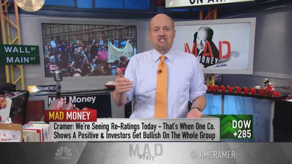 Cramer: Weird stock phenomenon coloring the tape