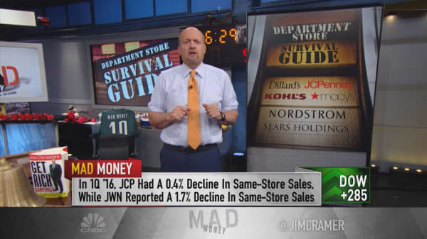 Cramer's retail ranking: What stores can survive Amazon