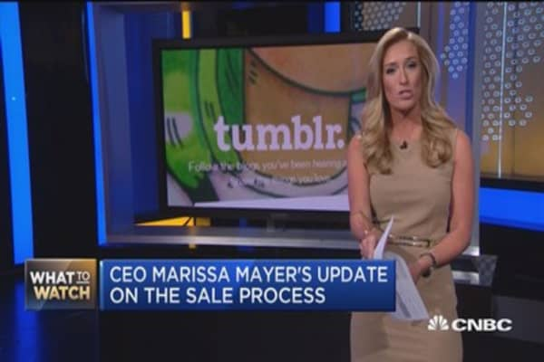 Yahoo's Mayer in the hot seat once again