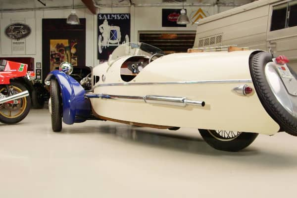 """A 1932 Morgan Supersports three-wheeler as shown on CNBC's """"Jay Leno's Garage."""""""