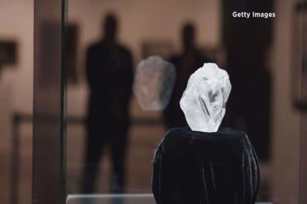 World's largest uncut diamond fails at auction