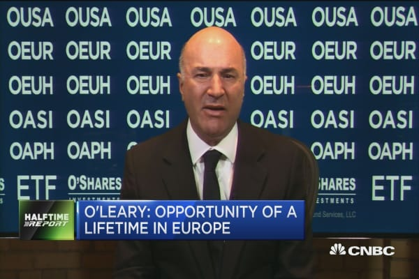 Europe screaming buy: Shark Tank's O'Leary