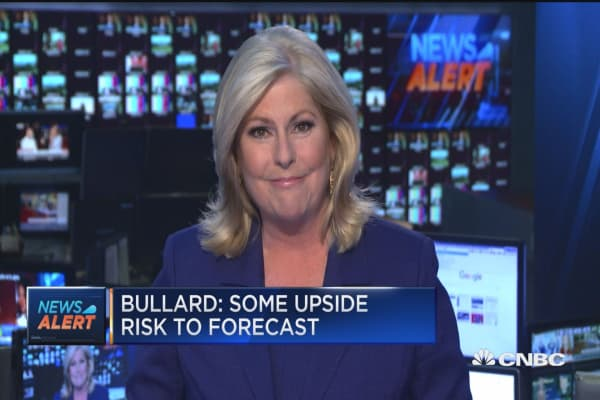 Bullard repeats US is in new economic 'regime'