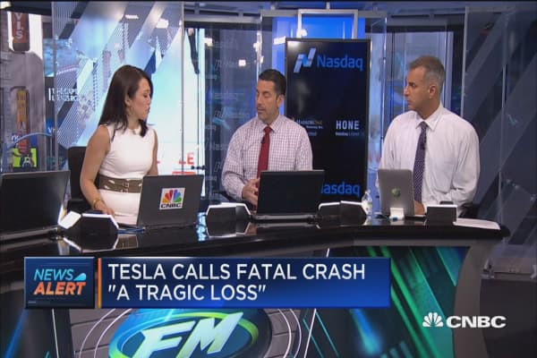 Trade Tesla on investigation?