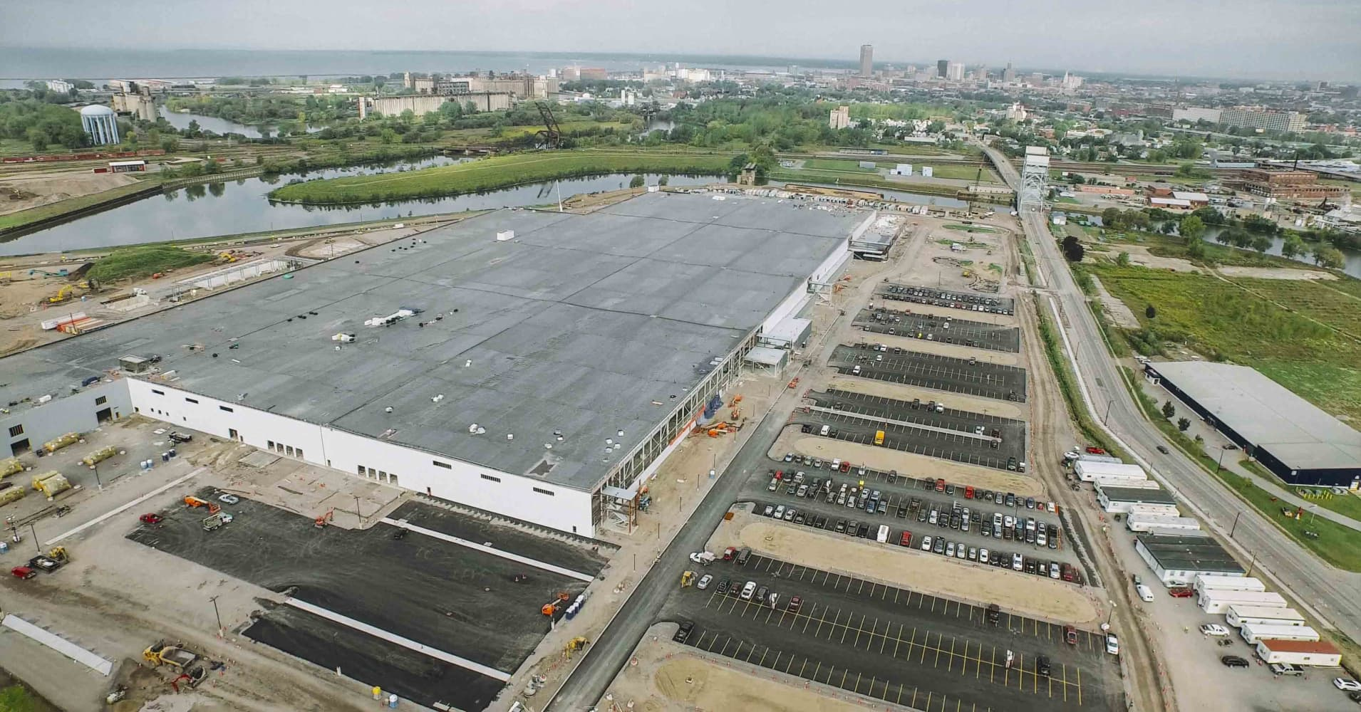Solarcity Gigafactory Brightens New York S Manufacturing