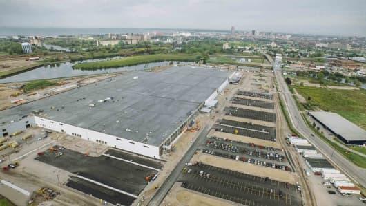 SolarCity gigafactory in Buffalo, New York