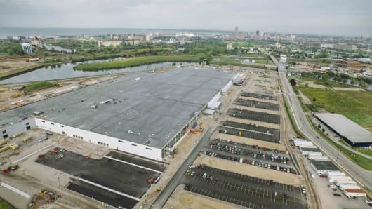 The SolarCity Gigafactory in Buffalo, New York