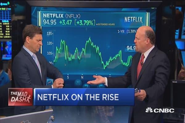 Cramer's Mad Dash: Netflix's long-term story