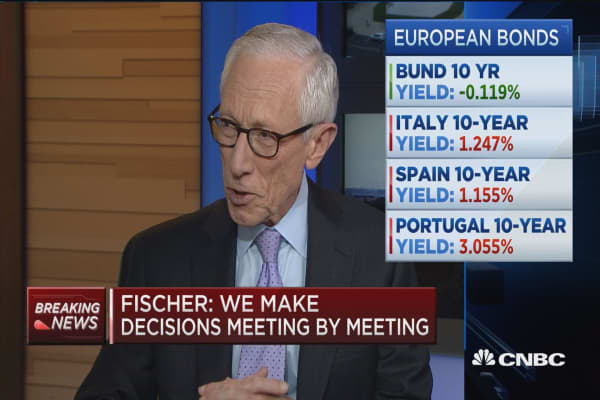 Fed's Fischer: No plans to try negative interest rates
