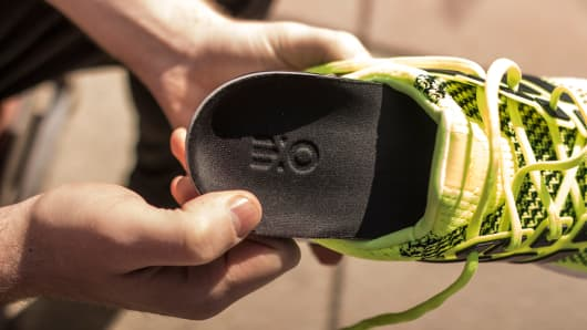 3-D printed custom orthotics called Exosols