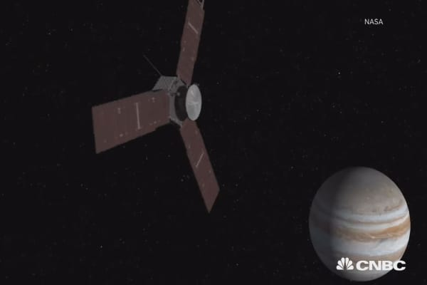 NASA will reach Jupiter on July 4