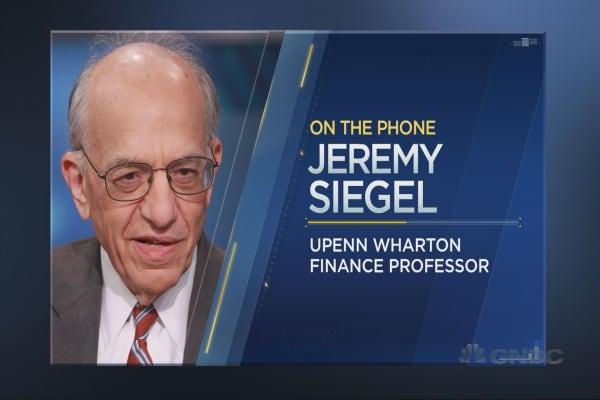 Jeremy Siegel makes the bull case for stocks