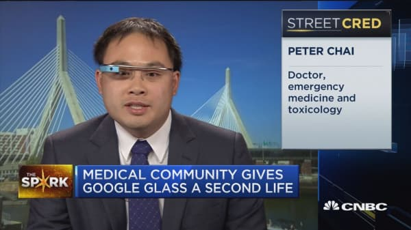 A comeback for Google Glass?