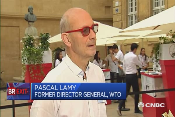 Brexit negotiations will take a very long time: Pascal Lamy