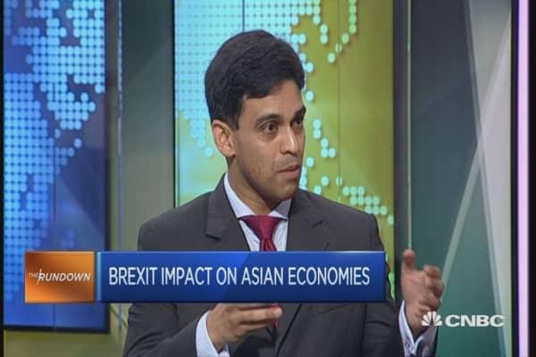 Brexit Asia Markets