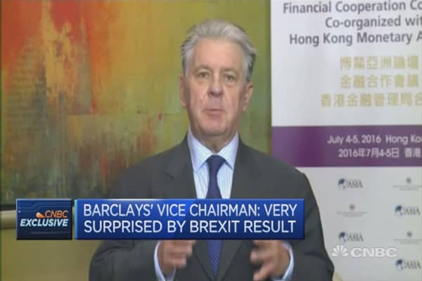 We were prepared for volatility: Barclays vice chair