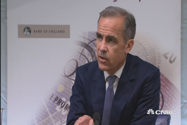 Sterling adjustment is significant: BOE's Carney